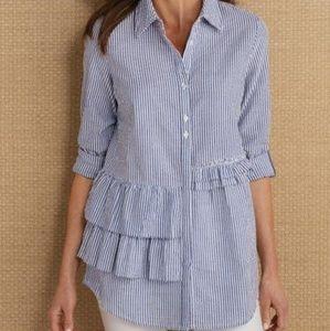 Soft Surrounding - Adley Ruffle Shirt